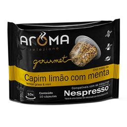 Chá Aroma Capsula 25G Cap Lim E Menta
