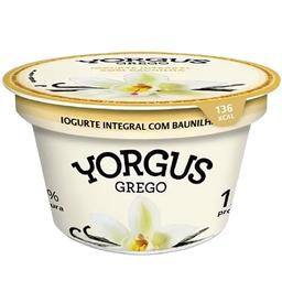 Iogurte Grego Yorgus Zero 130G Baunilha
