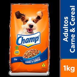 Ração Champ Carne e Cereal Para Cães Adultos 1 kg