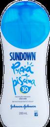 Protetor Solar Sundown Praia e Piscina FPS 30 200mL