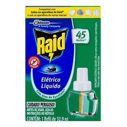 Inseticida Elétrico Raid Protect 45Noitesref Óleo Eucalipto