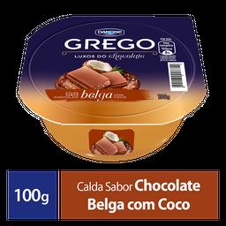 Iogurte Grego Danone Chocolate Belga Com Coco 100G