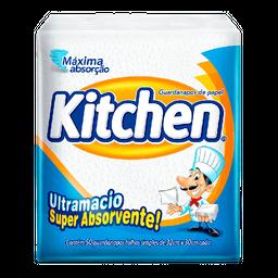 Guardanapo De Papel Folha Simples Kitchen Com 50 Unid 33 X 30 Cm
