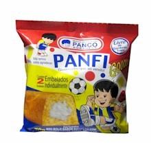 Panco Mini Bolo Sabor Baunilha Panquinho Com 2 Unidades
