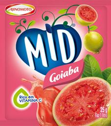 Mid Refresco Em Pó Goiaba