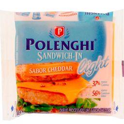 Queijo Cheddar Light Sandwich In Com 8 144G