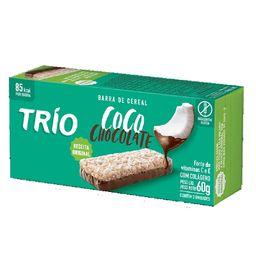 Barra De Cereal Coco Com Chocolate Trio Com 3 Un