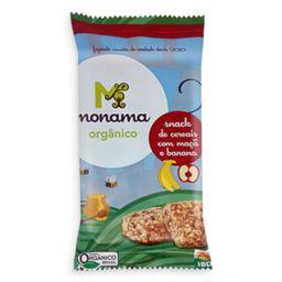 Snack Cereais Maca E Banana Monama 30 g