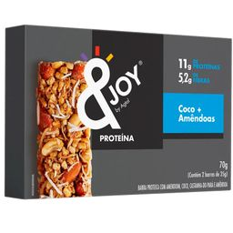 Barra Proteinut Coco Amendoa &Joy 70 g