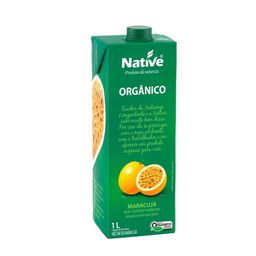 Suco Org Maracuja Native 1L