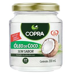 Oleo De Coco Sem Sabor Copra 200 mL