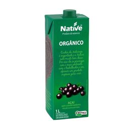 Suco Tropical De Acai Com Guarana Org Native 1L