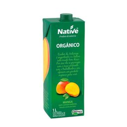 Suco Tropical De Manga Organico Native 1L