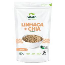 Farinha De Chia Com Linhaça Dourada Orgânica Vitalin 200 g