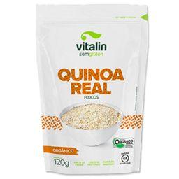 Quinoa Real Orgânica em Flocos Vitalin 120 g