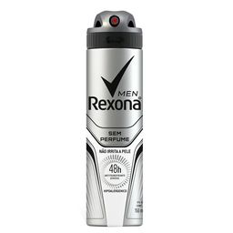Desodorante Aerosol sem Perfume Rexona Man 150ml