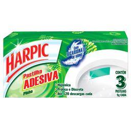 Detergente Sanitário em Pastilha Adesiva Pinho Harpic 9g