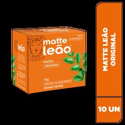 Chá Matte Leão Original - 10 Sachês