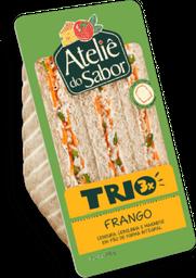 Sanduíche Natural Ateliê do Sabor Trio Frango 1 U