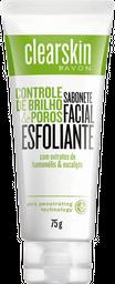 Clearskin sabonete facial esfoliante