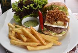 """Burger Gourmet P6 Au Poireau À """"Vih Tube"""""""