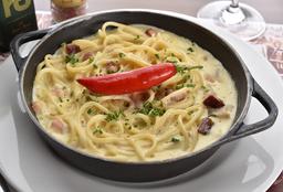 "Spaghetti Carbonara À ""Kaiky Brito"""