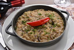 "Risotto Aux Cèpes À ""Chris Torloni"""