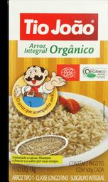 Arroz Tio João Integral Orgânico Pacote 1 Kg