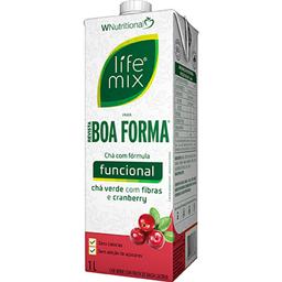 Chá Life Mix Boa Forma Cranberry 1 L