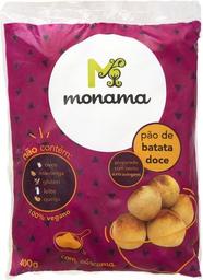 Pão De Batata Doce Congelado Monama 400 g