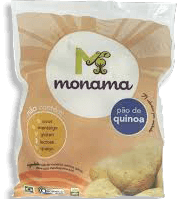 Pão De Quinoa Orgânico Monama 400 g