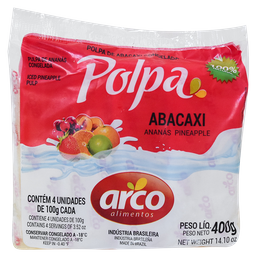 Polpa De Abacaxi 400 g