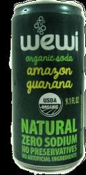 Refrig Orgânico Wewi Lata Guaraná 350 mL