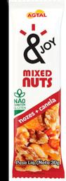 Barra de Cereal Mixed Nuts Nozes e