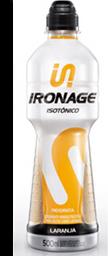 Isotônico Ironage Laranja 500 mL