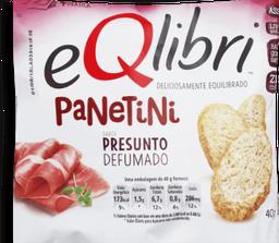 Biscoito Eqlibri Panetini Presunto Defumado 40 g