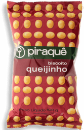 Biscoito Piraquê Queijinho Pacote 100 g