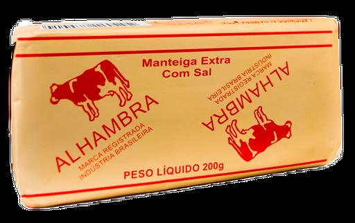Manteiga Alhambra Com Sal 200 G