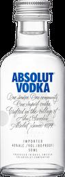 Miniatura De Vodka Absolut