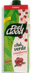 Cha Feel Good Verde Cranberry 1L