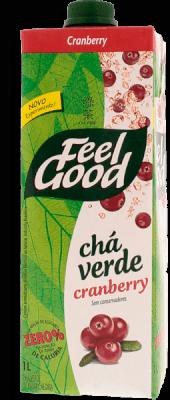 Cha Feel Good Verde Cranberry 1L