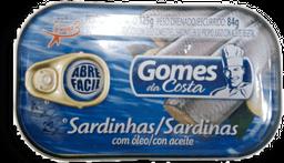 Sardinha em Óleo Gomes da Costa Lata 125 g