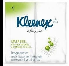 Lenços De Bolso Kleenex Bolso Com 10 Unidades