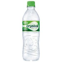 Água Mineral Crystal C/G Pet 500 mL