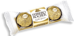 Chocolate Bombom Ferrero Rocher Com 3U 37,5 G