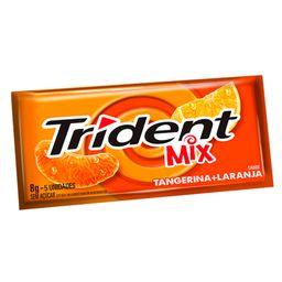 Chicle Trident Mix Tangerina/Laranja 8 g