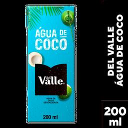 Água De Coco Natural Del Valle 200 mL