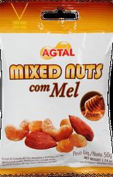 Salgado Mixed Agtal Nuts com Mel 50 g