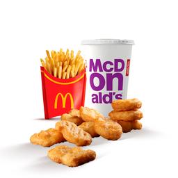 McOferta Chicken McNuggets 10 Unidades sem Molho