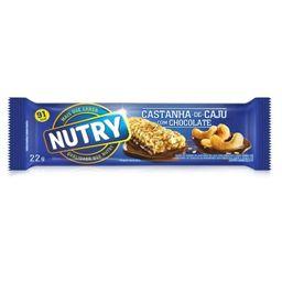 Barra Cereal Nutry Castanha De Caju Com Chocolate 22 g